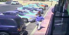 Los Angeles police, seeking to quell protests over the fatal weekend shooting of an African-American teenager, released surveillance video on Tuesday in which the youth is seen holding a handgun moments before he is shot by officers.