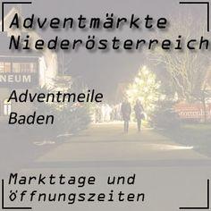 in Baden bei Wien gibt es mit der Adventmeile auch einen großen Weihnachtsmarkt #adventmarkt #baden #niederösterreich Bad Vöslau, Advent, Pony Rides, New Years Eve, Interesting Facts