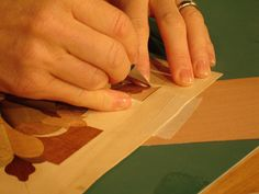 How to Create a Marquetry Piece : How-To : DIY Network
