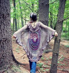 The Stevie Mandala Duster Crochet Pattern
