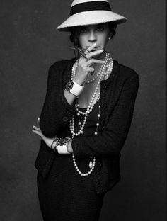 Carine in The Little Black Jacket: Chanel's Classic Revisited