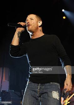 Corey Taylor of Stone Sour performs at Hammersmith Apollo on October 30 2010 in London England