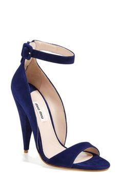 Miu Miu Ankle Strap Band Sandal | Nordstrom