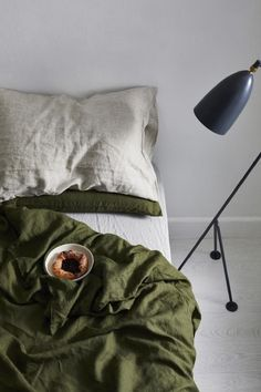 Love your linen sheets? Here's how to make them go the distance - Vogue Australia Linen Sheets, Linen Bedding, Bed Sheets, Bed Linens, Zara Home, Ikea, Bed Linen Design, Luxury Bedding Sets, Grey Flooring