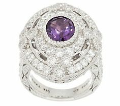 We love the vintage look of this beautiful ring! #QVC