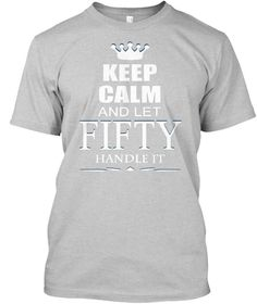 Let Fifty handle it