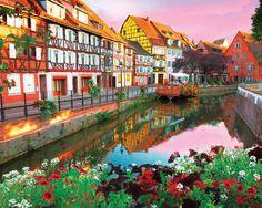 Colmar, France 1000 Piece Jigsaw Puzzle