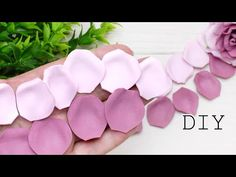 The Most simple flower from Foam Eva petals Simple Flowers, Diy Flowers, Fabric Flowers, Paper Flowers, Hobbies And Crafts, Diy And Crafts, Arts And Crafts, Paper Crafts, Time Poem