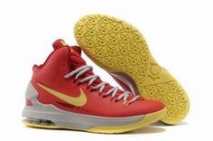 Nike Zoom Kevin Durant's KD V Basketball shoes Orange/Yellow