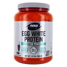 Save on NOW Sports Egg White Protein Powder Creamy Chocolate by NOW Foods and other Egg Protein Powders and GMP Certified remedies at Lucky Vitamin. Shop online for Sports Nutrition, NOW Foods items, health and wellness products at discount prices. Healthiest Protein Powder, Paleo Protein Powder, Organic Protein Powder, Protein Powder Recipes, Whey Protein, Protein Powder Cookies, Protein Powder Pancakes, Chocolate Protein Pancakes, Chocolate Protein Shakes