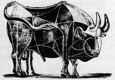 Picasso Bull Kunst Picasso, Picasso Prints, Pablo Picasso Drawings, Picasso Art, Picasso Paintings, Animal Paintings, Picasso Portraits, Alexander Calder, Piet Mondrian