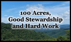On today's episode I have a conversation with Troy McClung. Troy homesteads/farms 100 acres in Southern West Virginia and shares about his journey at RedToolHouse.com.