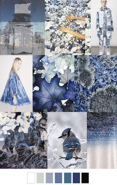 WINTER NIGHTS #prints #patterns #moodboard