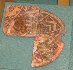 Medieval tiles in the Chelmsford & Essex Museum
