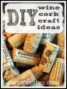 corks, craft, wine cork projects