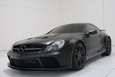 Matte Black Mercedes Benz AMG