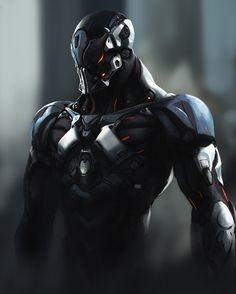Armors 183169909828753571 - ArtStation – lulala, sai foubalana Source by amonrahl Fantasy Armor, Dark Fantasy Art, Sci Fi Fantasy, Robot Concept Art, Armor Concept, Arte Robot, Futuristic Armour, Sci Fi Armor, Poses References