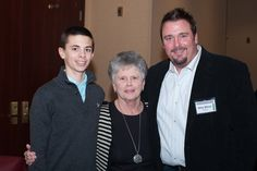 Gavin, Mary Ann and Mike Minor.