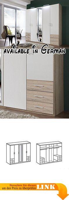 B00H8NR0EG  Rauch Schlafzimmer Komplett Set mit Bett 180x200 - komplett schlafzimmer mit matratze und lattenrost