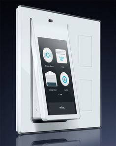 Wink Relay is a wall-mounted panel for controlling your smart home. Featuring a touchscreen display that fits in a standard light switch panel, it allows you to control and program all your Wink-enabled devices like lights, thermostat, and entertainment. There are currently more than 20 brands with Wink compatible products, including Nest Labs, Gilmour, & Linear.