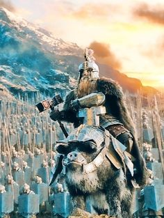Dain Ironfoot, Lord of the Iron Hills then later King Under the Mountain.