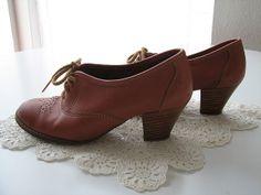 brown oxford heels | Flickr - Photo Sharing!