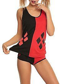 HOTTOPIC.COM - Underoos DC Comics Harley Quinn Girls Underwear Set.. I could get into superhero undies... :D