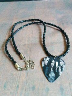Elena Stefan and Damon Vampire Diaries fandom Necklace - Guitar pick - Fandom jewelry - cosplay - bonnie - guitar pick necklace - jewellery by Blackrose37 on Etsy