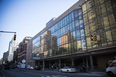Bellevue Hospital Center has been forced to transport its intensive care unit patients two blocks north to NYU Langone Medical Center, as the staff at the Bellevue ICU are consumed with Ebola care.