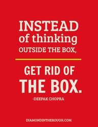 """Agreed!  Boxes restrict us a lot..  I have yet to find one that can fit my big arse.  #justsayin  