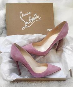 Pink Christian Louboutins.