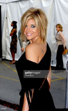 Actress Tifanni Thiessen attends the 29th Annual American Music Awards at the Shrine Auditorium January 9, 2002 in Los Angeles, CA.