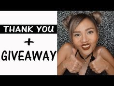 THANK YOU FOR 60K++ Subscribers & GIVEAWAY - YouTube
