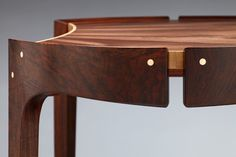Writing Desk and Chair crafted out of Walnut by TheWoodMaestro