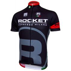 Rocket Espresso Milano Jersey - Short Sleeve/Full Zip