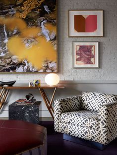 Here, Elena Frampton, Creative Director of New York-based interior design firm Frampton Co, tells us how to bring color into our spaces, even for the most neutral-obsessed...