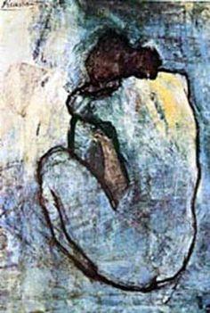 Picasso.  Blue Period (1901-1904)