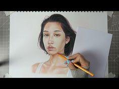 COLOURING TUTORIAL + TIMELAPSE // Faber Castell Polychromos Pencils (24 Set) - YouTube