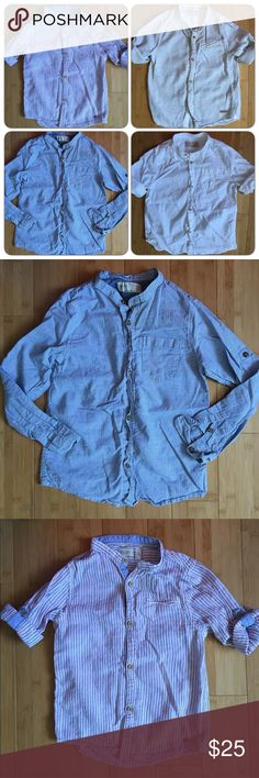 ZARA Boys Bundle Shirts sz5-6 In good condition. Zara Shirts & Tops