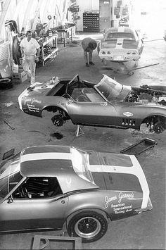 corvettedave:  James Garner's racing Corvettes