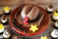How to Make a Cowboy Hat Cake - Part 1