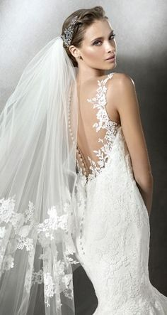 Pronovias 2016 Bridal Collection - Custom Made Bridal Gown & Design Your Own Dress! Click now www.yalandesign.com