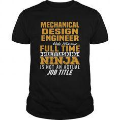 I Love Mechanical Design Engineer T-Shirt