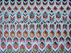 'Rad' cut paper patterns by Maud Vantours | via Behance