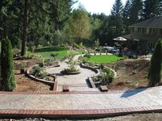 House Walkway And Patio Ideas Illustrated With Pictures (10)