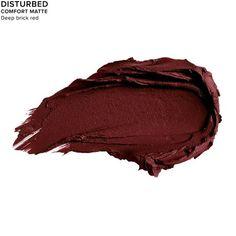 Vice Lipstick in color DISTURBED (COMFORT MATTE)