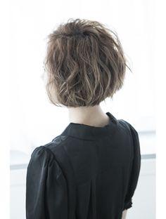 ミエルヘアー 新宿エスト3号店(miel hair)【miel hair 新宿3号店】甘辛ミックスで攻めるショートボブ