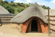 The Basotho hut is slowly, but surely, being nudged out of the Lesotho landscape in South Africa by modern construction. With a roof of strong grass that lasts 20 to 30 years it keeps the inside cool during summer and traps heat during winter without a drop of water seeping through. This house is part of the Basotho Cultural Village where homes from the sixteenth century are displayed. Discover more at www.naturalhomes.org