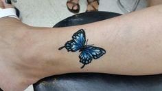 Color temporary tattoo, renkli geçici dövme, kına dövmesi, butterfly tattoo, kelebek dövmesi, renkli dövme