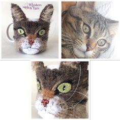 😸Custom Cozy for @justbakecakes. Money will be donated to @kareq8😸 #whiskersandyarn #cupcozy #mughug #coffecozy  #Q8crochet #kuwaitcrochet #kuwait #q8 #kuwaithandmade #everythingkuwait #yarnaddict #crochetaddict #Q8  #q8sale #kuwaiti #q8instagram  #kwt#mugcozy #crochetersofinstagram #instacrochet  #happyhooker #crochetersofinstagram #catsofinstagram  #cupsleeve #crochetcozy ☎️Whatsapp +965 50600946☎️
